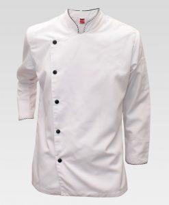 chaqueta chef, uniforme chef Bogota, uniformes cocina y mesa, Majua uniformes, filipina de chef, cocinero Bogota, envíos a toda Colombia